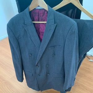 Other - Double Breasted 42 R Suit Men's